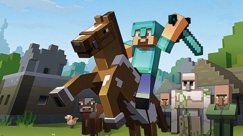 Minecraft screengrab