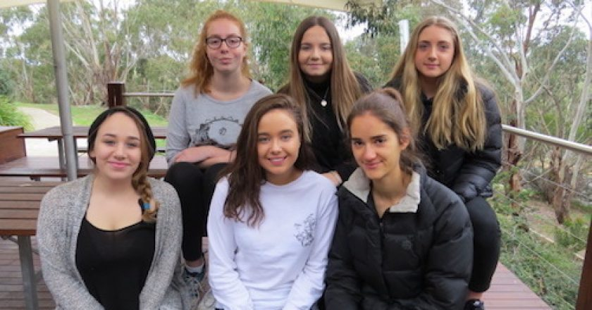 Melbourne Girls College Youth Parliament team