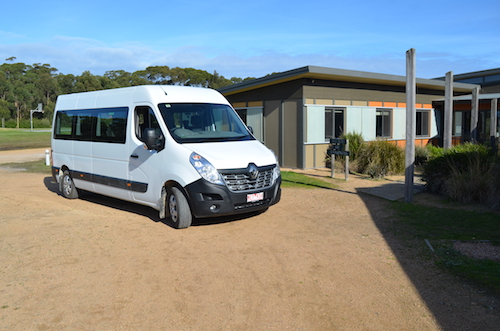 Renault's Master Bus arrives at outdoor adventure school in Gippsland