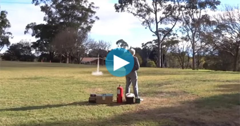 STEAM Education Australia rocket launch