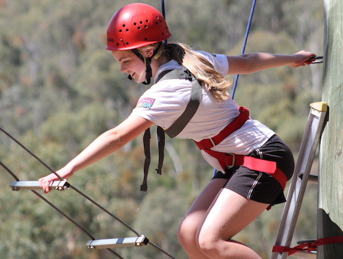 High ropes outdoor education