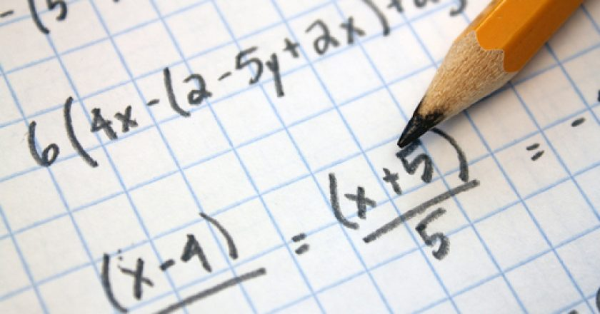 Maths and pencil