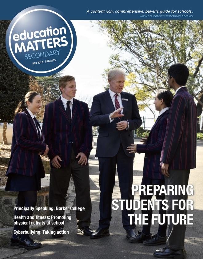 Education Matters (Secondary): November 2018
