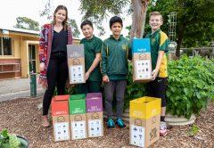 Primary School landfill waste