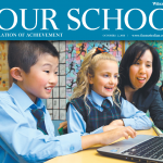 The Australian's Your School publication highlights divide